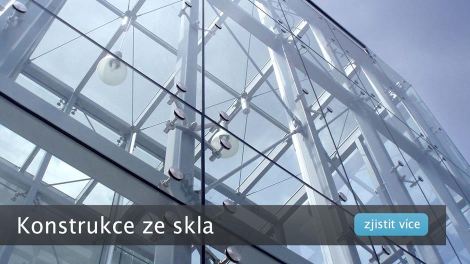 Konstrukce ze skla